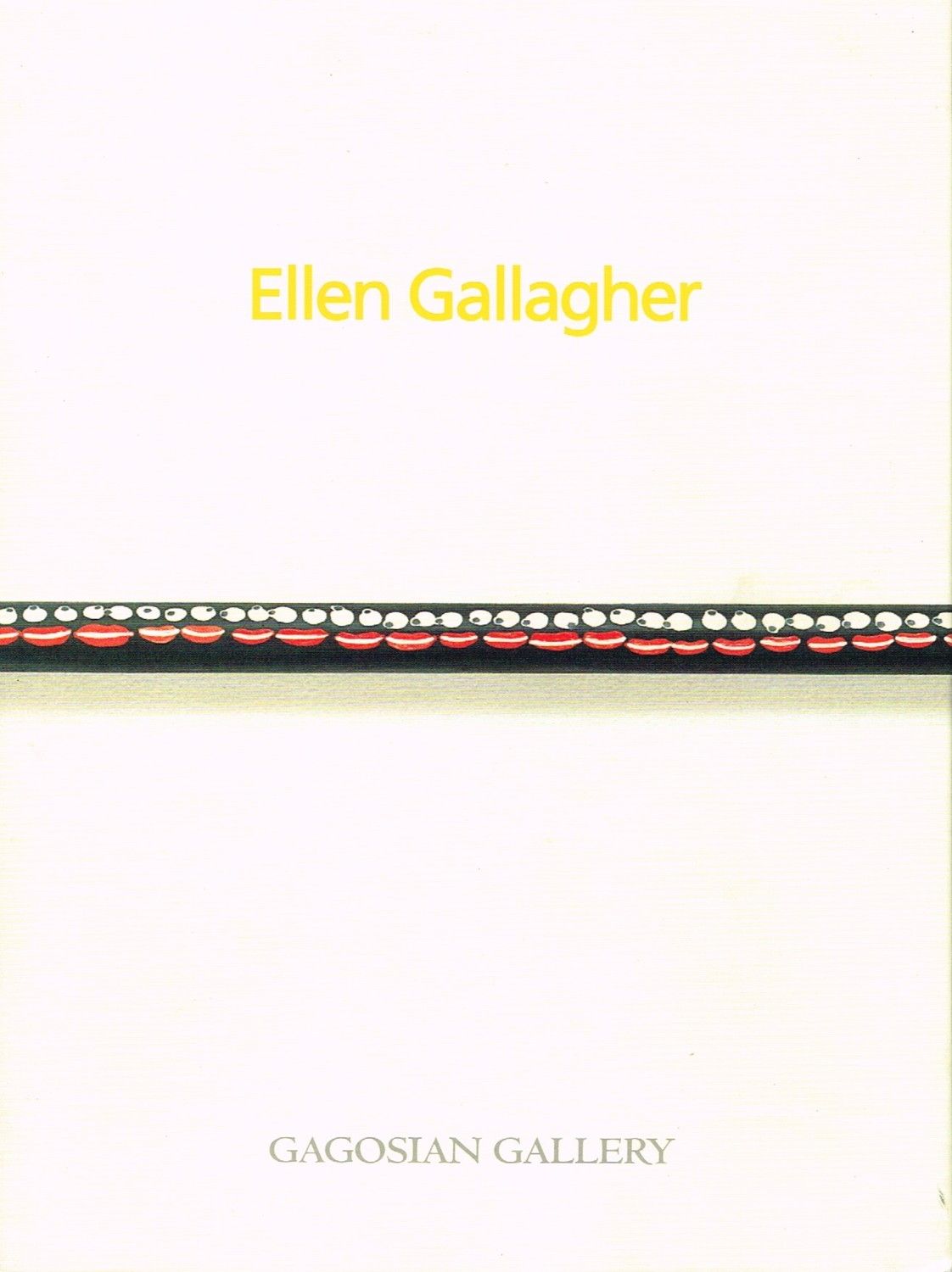 (GALLAGHER, ELLEN). GALLAGHER, ELLEN, GREG TATE & COLETTE CHIMURENGA - ELLEN GALLAGHER