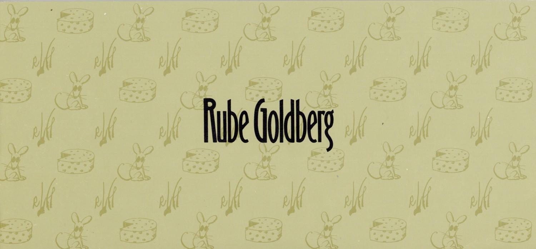 (GOLDBERG, RUBE). OKUN, HENRY & PETER SELZ - RUBE GOLDBERG MEMORIAL EXHIBITION: DRAWINGS FROM THE BANCROFT LIBRARY