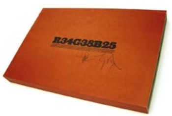 (DOYLE, CHRISTOPHER). DOYLE, CHRISTOPHER - R34G38B25 (HERO) - DELUXE LIMITED BOXED EDITION ADDITIONALLY SIGNED BY CHRISTOPHER DOYLE