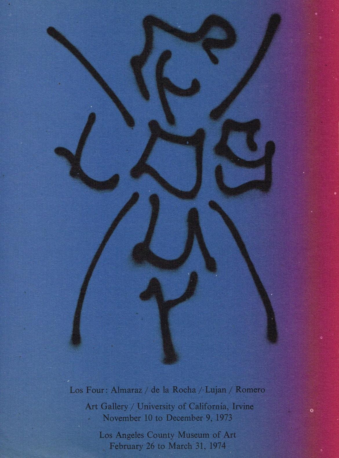 (LOS FOUR). ALMARAZ, CARLOS, ROBERTO DE LA ROCHA, GILBERT SANCHEZ LUJAN & FRANK EDWARD ROMERO - LOS FOUR: ALMARAZ / DE LA ROCHA / LUJAN / ROMERO
