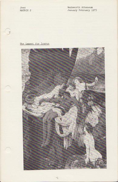 (JESS). DUNCAN, ROBERT & A(NDREA) M(ILLER)-K(ELLER) - JESS: MATRIX 2