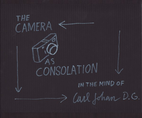 (DE GEER, KARL JOHAN).KUGELBERG, JOHAN - KARL JOHAN DE GEER: THE CAMERA AS CONSOLATION 1959-1980 - DELUXE LIMITED SIGNED EDITION WITH A VINTAGE PRINT HOUSED IN A HAND DRAWN SLIPCASE BY THE PHOTOGRAPHER