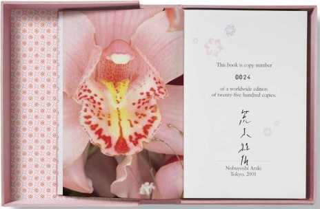 (ARAKI, NOBUYOSHI). ARAKI, NOBUYOSHI & JEROME SANS - ARAKI - LIMITED EDITION SIGNED BY THE PHOTOGRAPHER