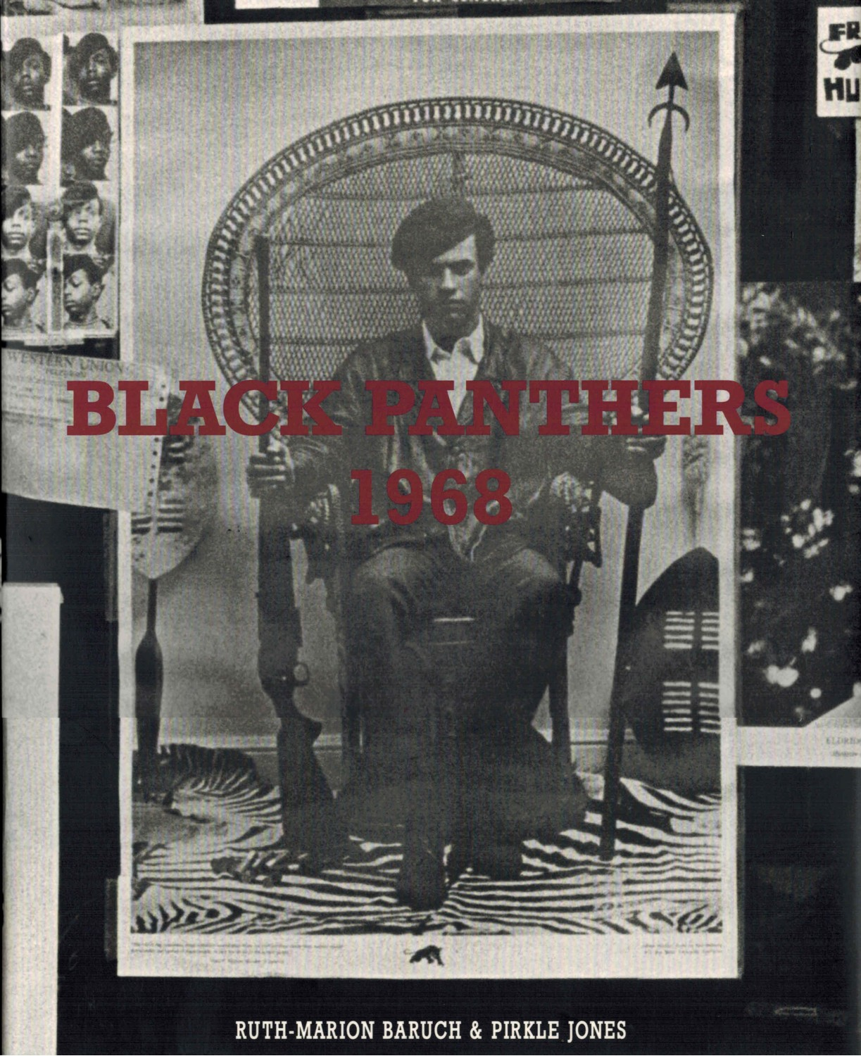 (JONES, PIRKLE) (BARUCH, RUTH-MARION) (BLACK PANTHERS, THE). JONES, PIRKLE & RUTH-MARION BARUCH. INTRODUCTION BY KATHLEEN CLEAVER - BLACK PANTHERS 1968 - DELUXE BOXED EDITION WITH A SIGNED PHOTOGRAPH