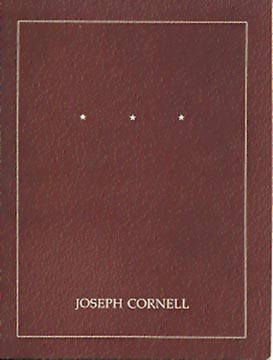 (CORNELL, JOSEPH). COPLANS, JOHN - JOSEPH CORNELL