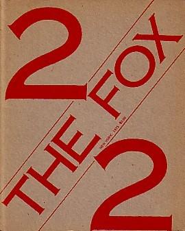 (FOX, THE). CHARLESWORTH, SARAH, MICHAEL CORRIS, PRESTON HELLER, JOSEPH KOSUTH, ANDREW MENARD, MEL RAMSDEN & IAN BURN, EDITORS - THE FOX: NUMBER TWO (2) 1975
