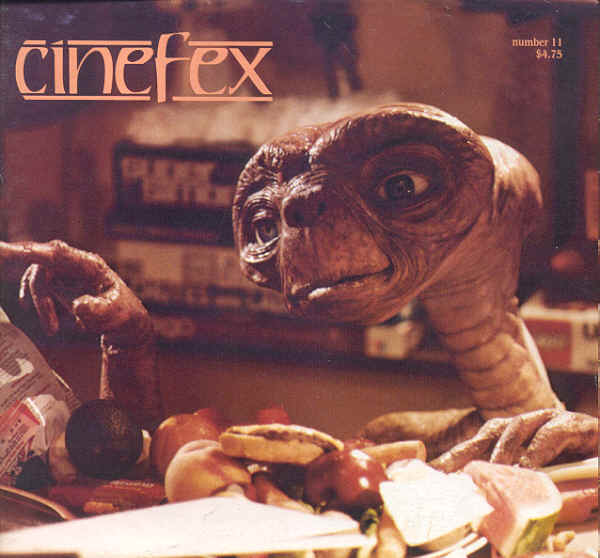 (CINEFEX). SHAY, DON, EDITOR & PUBLISHER - CINEFEX . . . THE JOURNAL OF CINEMATIC ILLUSIONS: NUMBER 11 - JANUARY  1983