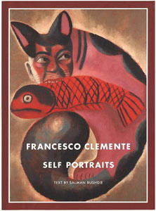 (CLEMENTE, FRANCESCO). RUSHDIE, SALMAN - FRANCESCO CLEMENTE: SELF PORTRAITS
