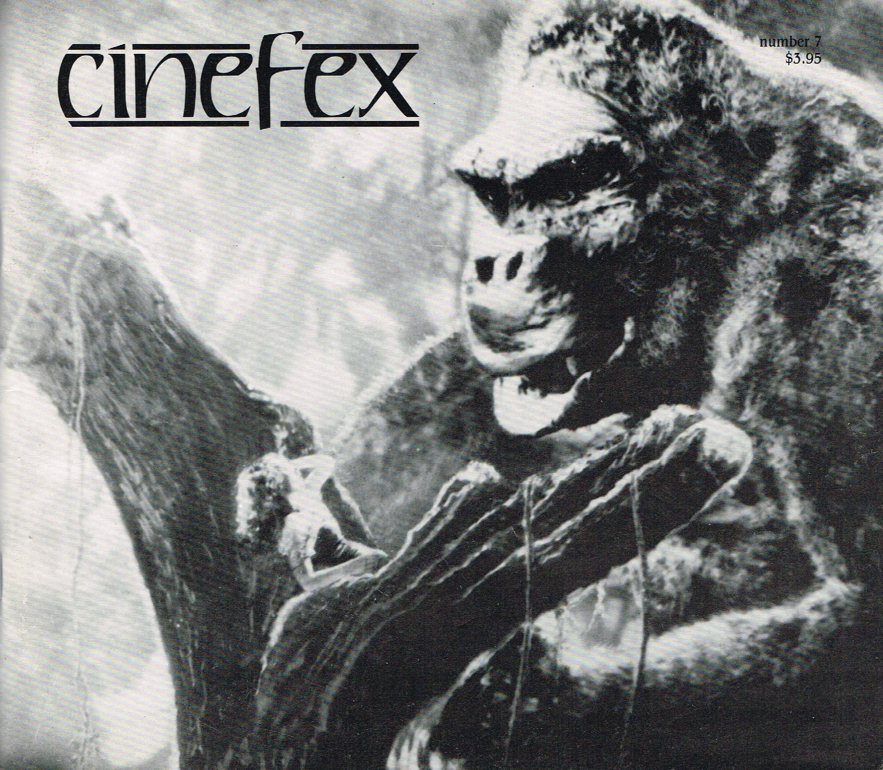 (CINEFEX). SHAY, DON, EDITOR & PUBLISHER - CINEFEX . . . THE JOURNAL OF CINEMATIC ILLUSIONS: NUMBER 7 - JANUARY 1982