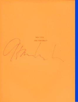 (CHAMBERLAIN, JOHN). CHAMBERLAIN, JOHN - RAND PIECE - SIGNED BY JOHN CHAMBERLAIN