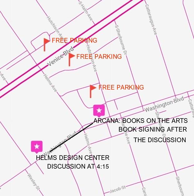 Events | News/Blog | Arcana: Books on the Arts