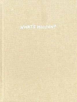 BARR, JR., ALFRED H. - WHAT'S MODERN?