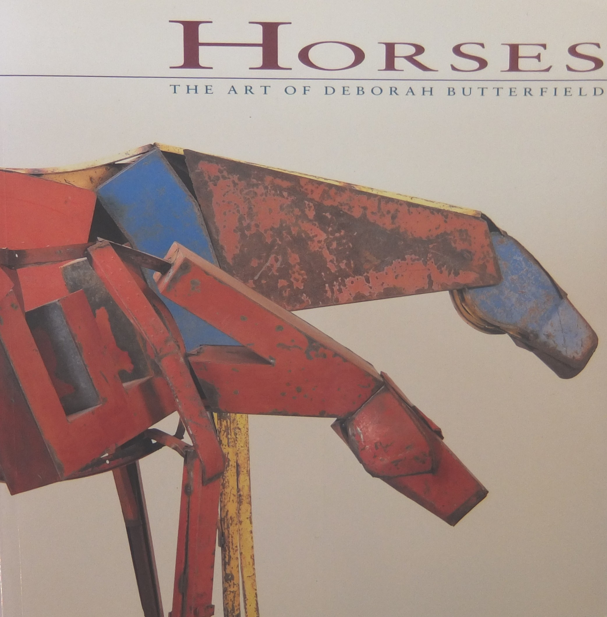 """artist deborah butterfield essays Over 100 sculptures and an explanation of """"dressage"""" make this clear in the book deborah butterfield artist, butterfield an essay by """"horsewoman."""