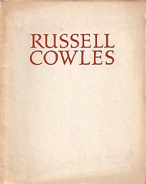 (COWLES, RUSSELL). BEAR, DONALD - RUSSELL COWLES