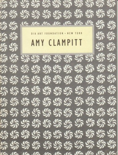 (CLAMPITT, AMY). CLAMPITT, AMY - READINGS IN CONTEMPORARY POETRY NUMBER 7: AMY CLAMPITT